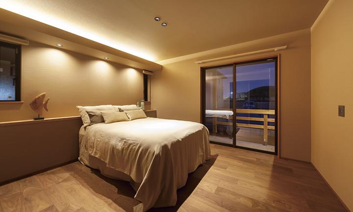寝室 デザイン