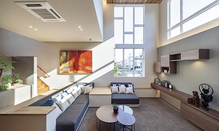 さいたま市で出展した注文住宅・新築一戸建ての住宅展示場内部