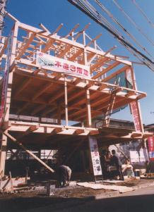 さいたま市で建設中途中の注文住宅・新築一戸建て