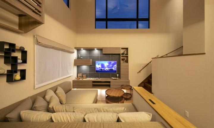 さいたま市の注文住宅・新築一戸建ての工務店が展示会出展したの際の屋内