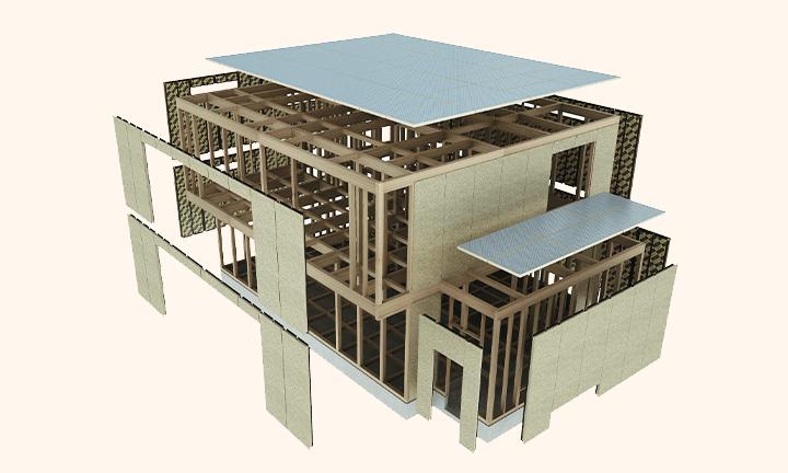さいたま市で耐震住宅・地震に強い家の構造図
