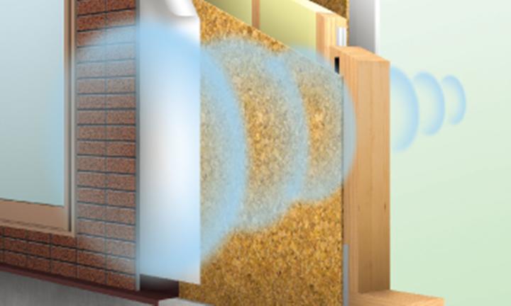 さいたま市の高気密住宅・高断熱住宅での騒音シャットアウトイメージ